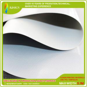 Tela incatramata ad alta intensità e buona del PVC laccato di Elastibity