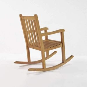 a14d6c721 Silla mecedora de madera de mejor venta de muebles de exterior e interior