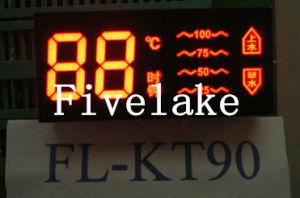 Module d'affichage de segment de LED coloré personnalisé pour appareils électriques (KT90)