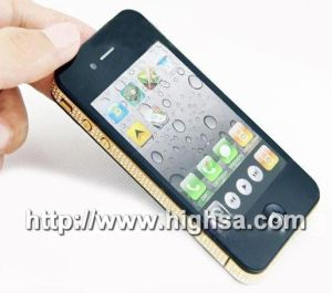 Diamant-Luxuxtelefon-kapazitiver Schirm WiFi FM Buit-in 4GB