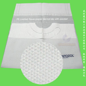 Avental de papel dentária descartáveis