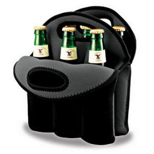 Pack de 6 bouteille de bière Sac isotherme en néoprène (BC-008)