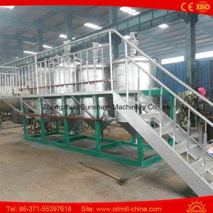 equipamento vegetal da refinaria de petróleo do óleo pequeno do girassol da refinaria de petróleo 5t