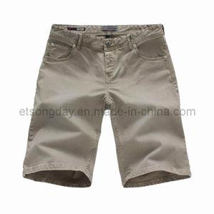 Shorts del cotone degli uomini grigi dello Spandex (GDS-34)