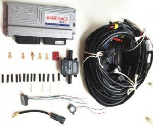 Conversion de carburant GPL/GNV l'ECU AC300-4 pour 3/4 vérin avec le système de commande électronique d'injection séquentielle AC300 Kit Kit GPL GNC de l'essence au gaz