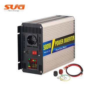 500W DC/AC 12V para 220V Car Inversor com a saída da UE RoHS certificado para home off Grid onda senoidal pura