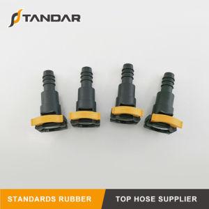 Montaje de plástico para Auto flexible de presión de aceite hidráulico de la manguera de goma