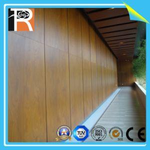Incombustible y resistente al agua el panel de pared decorativos