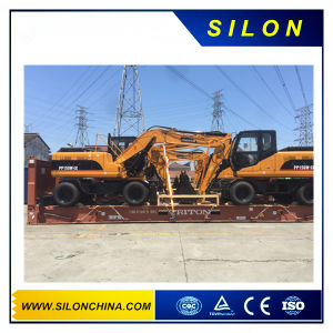China 15t Mini Excavadora de Cadenas con Motor Cummins