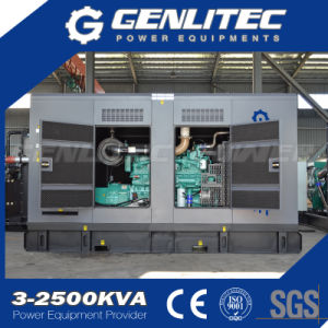 Cummins 200kVA 250kVA 300 kVA 400kVA Groupe électrogène de puissance à usage intensif