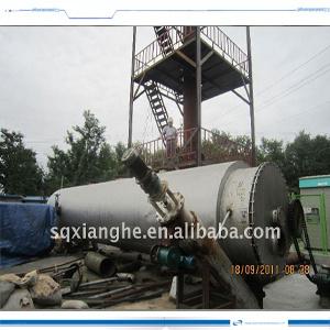 Pyrolysis di tipo continuo Oil a Diesel Distillaiton Plant 20 Ton /24hours