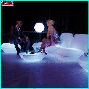 Lawn LED cadeira espreguiçadeiras Salão de LED para a sala de estar