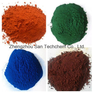 Het rode Pigment van het Oxyde Fe2o3 van het Ijzer