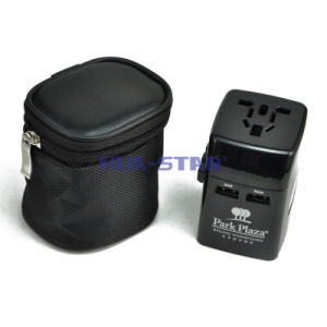 Customized professionale Travel Adapter con il USB Charger