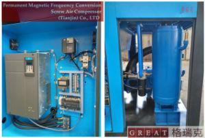 Stationäre zweistufige Drehschrauben-Hochdruckluftverdichter
