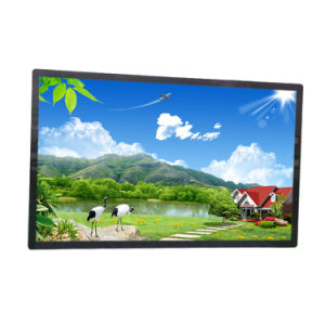 Geöffneter Spant 55 Zoll-Touch Screen LCD-Monitor mit HDMI/VGA