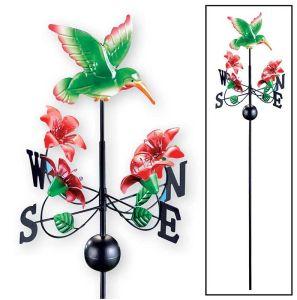 De Staak van de Tuin van de Spinner van de Wind van de Wind van de vogel