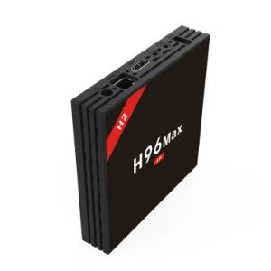 Android astuto nero massimo nuovo di vendita caldo della casella di flusso continuo di H96 H2 Rk3328 4GB 32GB
