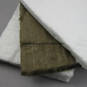 Stuoia delle lane del rullo del feltro dell'isolamento termico del silicone con alluminio
