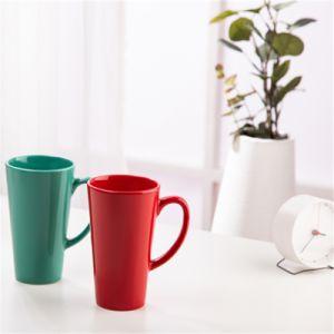 Stocklots fábrica de Minas de porcelana y cerámica de colores mayorista Slim tazas de té y café tazas