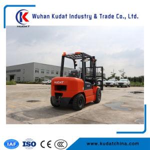 De 3 tonnes à quatre roues chariot élévateur Diesel avec moteur japonais importés et des prix bon marché (CPCD30)