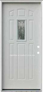 Puerta de acero americano solo Interior Pre colgado de la puerta de metal (Ef-A012)