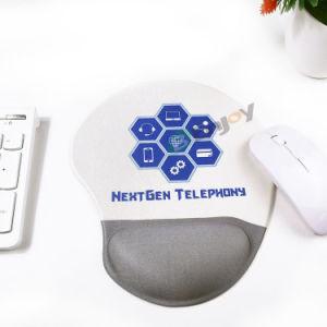 Almofada de rato ergonómica do gel do computador de escritório do jogo com sustentação de pulso do descanso