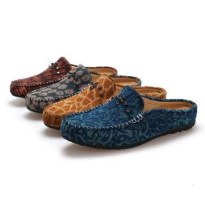 標準的な人のスリップオンは蹄鉄を打つ偶然靴(FTS1020-21)に