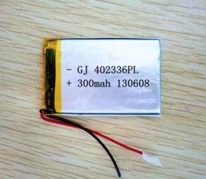 MP4를 위한 Li 중합체 배터 3.7V 410mAh