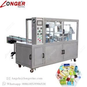自動コンドームのフィルムのOverwrapperの香水3Dボックスセロハンの包む機械