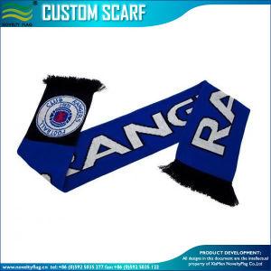 Satin de soie/tricoté 100% acrylique/Spandex tricoté écharpe nationale des Émirats arabes unis (b-NF19F06011)