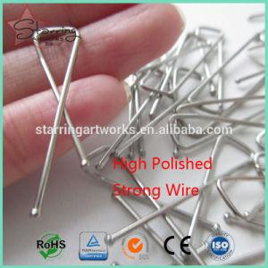 La fabbrica fornisce la clip d'argento X-A forma di della camicia del metallo di colore di 33mm per l'imballaggio dei vestiti