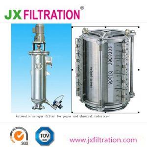 Filtro automatico a pulizia automatica dalla ruspa spianatrice per il trattamento delle acque