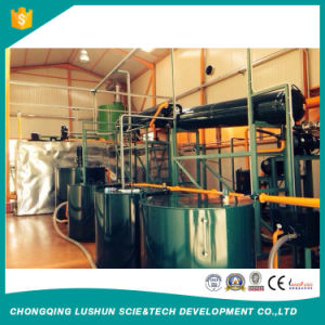 Purificador de la Regeneración de aceite lubricante para obtener los nuevos aceites