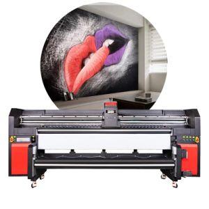 Nueva llegada de la cabeza Gen5 de alta velocidad de 2,2 millones de coches en vinilo de alta resolución de la impresora UV de envoltura de rollo a rollo
