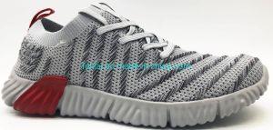 Venta de zapatos casual ligero caliente cómodo Flyknit moda zapatos de deporte superior de la simple