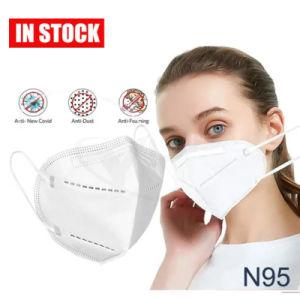 YLW Fashion FFP2 KN95 jetables de gros avec contour Bfe>95 % 5-Ply Non-Woven poussière Masque facial de protection