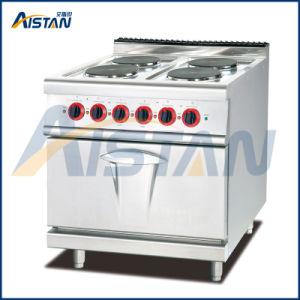 Eh787b 4 plaque chaude avec four de l'équipement de boulangerie