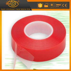 band van het Huisdier van 15mm X25m de Duidelijke Acryl Dubbele Zij