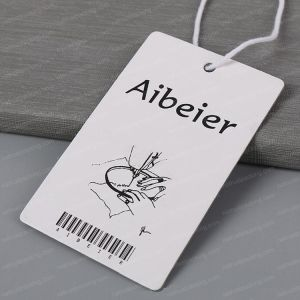의류를 위한 Hant 꼬리표가 주문 인쇄 서류상 Cmyk에 의하여 표를 붙인다