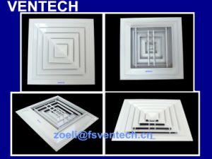 熱い販売の換気の天井の供給の空気拡散器、空気調節の正方形の拡散器