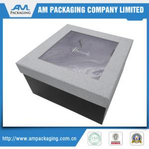 カスタマイズされた紙器チョコレートは明確なWindowsが付いている贅沢なボックスを囲む