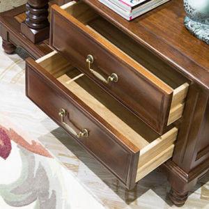 De estilo americano, zapato de madera sólida mueble para Salon muebles810.