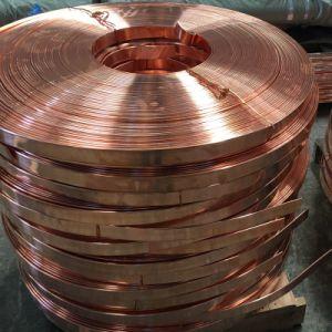 Soft condutores eléctricos C11000 T2 cobre a Barra Chata em rolos