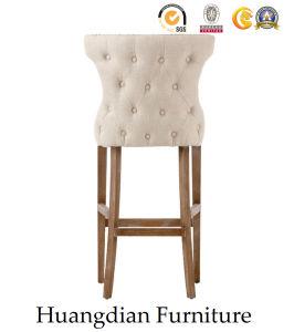 Современный бар мебель Tufted назад ткань бар стул бар табурет (HD512)