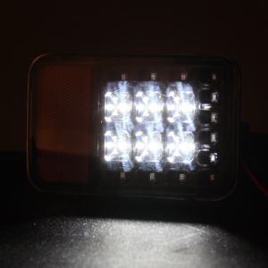 ジープのラングラーJk LEDのテール後部背部バンパーライトのため