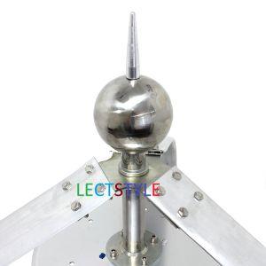 Generatore di vento verticale a magnete permanente a tre fasi di Lectstyle 400W24V