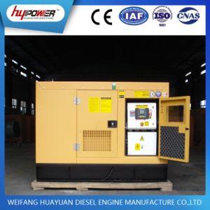 30kVA gerador de sinal WiFi silenciosa com motor diesel de Weifang