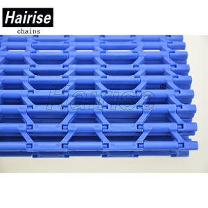 Pinless grille Encastré modulaire en plastique de courroie du convoyeur sans broches