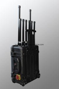8 de Frequenties van de Stoorzender rf van de Hommel van kanalen 200W 5.8g/Uav 315/433/868 Stoorzender van het Signaal
